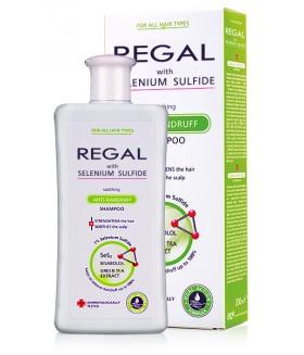 REGAL KALMERENDE ANTI-ROOS Shampoo met Selenium Sulfide voor Elk Haartype 200ml