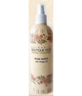 LUXE ROZEN WATER BOUTIQUE ROSE met ROZEN OLIE zonder Parabenen 330ml Spray