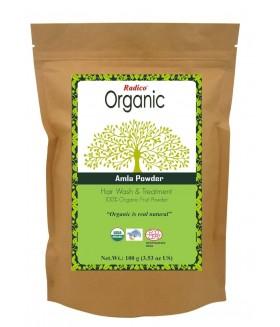 ORGANIC AMLA 100% Natuurlijke BIO Organic Anti-Haaruitval, Anti-Vergrijzing, Haargroei, Care, Volume, Voedende Poeder 100g