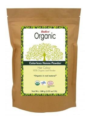 ORGANIC COLORLESS NEUTRAL HENNA 100% Natuurlijke BIO Organic Volume, Glans, Care, Volume, Voedende Haarverf Poeder Zonder PPD, Ammonia, Peroxide etc. 100g