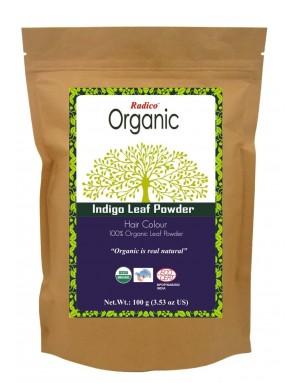ORGANIC INDIGO 100% Natuurlijke BIO Organic Care Haarverf Zonder PPD, PTD, Ammonia, Peroxide etc. 100g