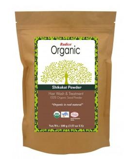 ORGANIC SHIKAKAI 100% Natuurlijke BIO Organic Anti-Haaruitval, Anti-Roos, Haargroei, Care, Volume, Voedende Poeder 100g