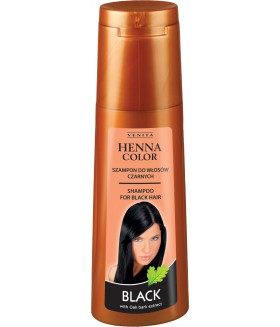 HENNA COLOR Shampoo BLACK 250ml