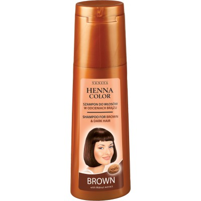 HENNA COLOR Shampoo BROWN 250ml