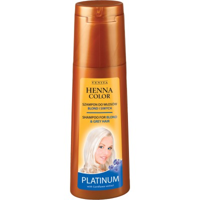 HENNA COLOR Shampoo PLATINUM  250ml