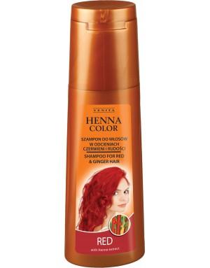 HENNA COLOR Shampoo RED 250ml