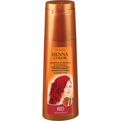 HENNA COLOR Shampoo RED 250ml